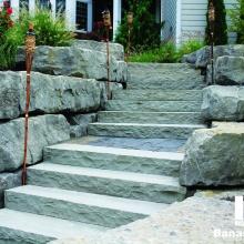 Banas Stones - Dove Grey Steps