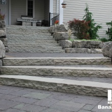 Banas Stones - Dove Grey Steps 5